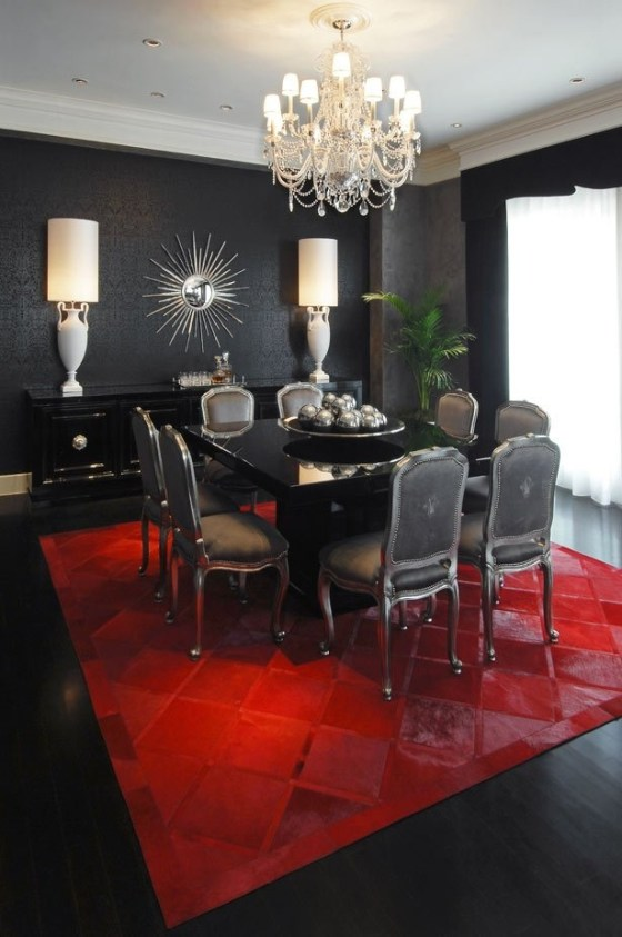 Black Dining Room  Chatti Patti Talks Design