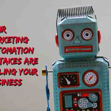 content marketing automation mistakes