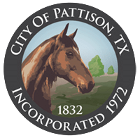 Logo for City of Pattison, TX