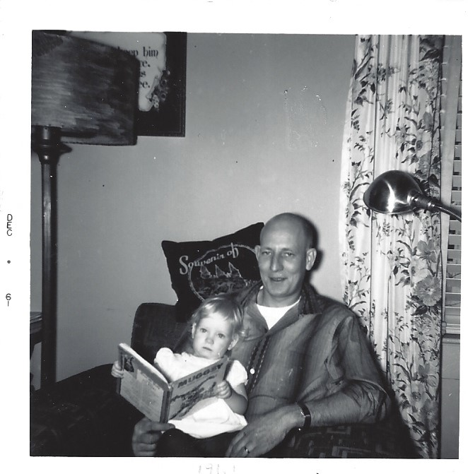 Dad and the book
