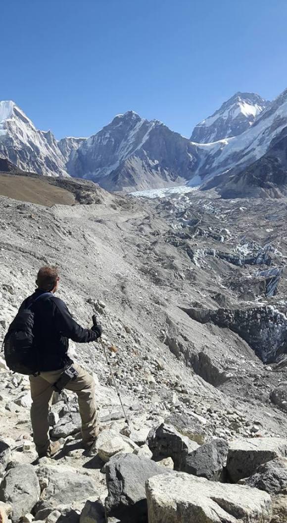 Looking towards Mt Everest basecamp