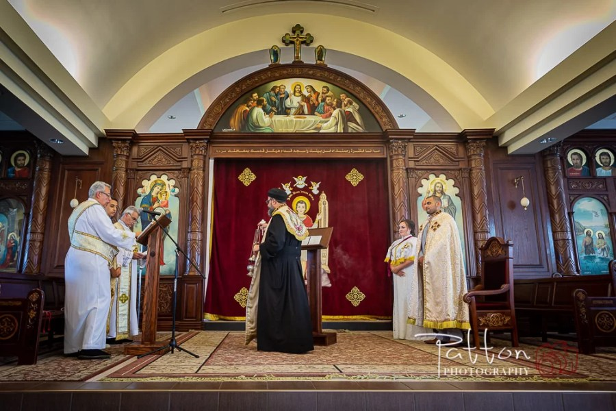 Coptic Orthodox Wedding ceremony