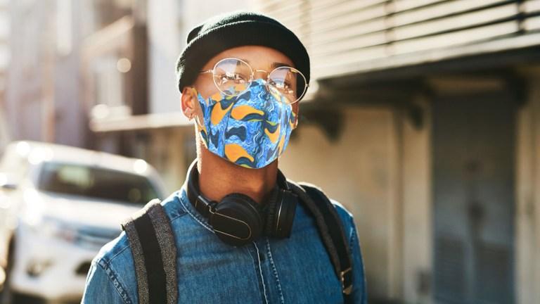 SmARTmask face mask concept with Indigenous artwork design