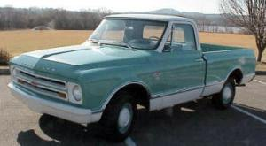 19671972 Chevrolet Pickup Model Differences