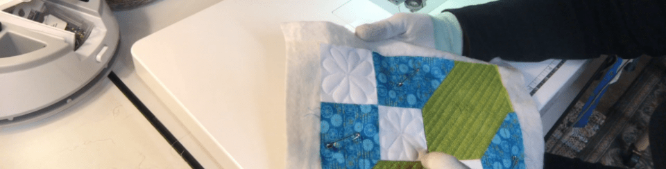 Free Motion Quilting - Road to Oklahoma