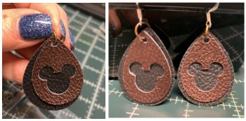 Mickey Earrings