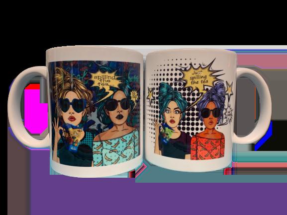 Spilling the Tea Mugs