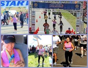 Pictures during my Half Marathon Run
