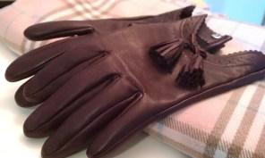 Varick Tassle Leather Gloves