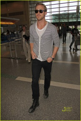 Ryan Gosling Leaves L.A. For Cannes