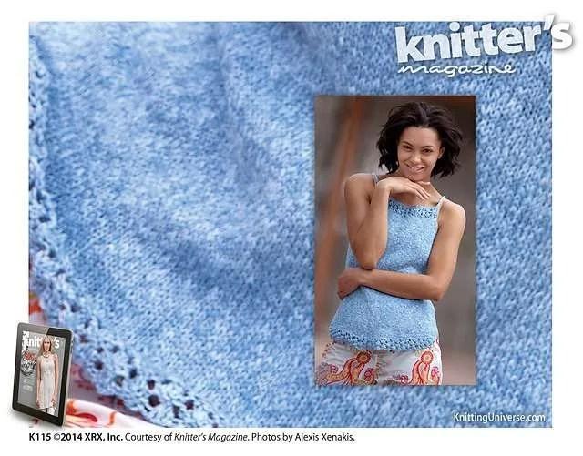 Shirttails - Knitters Summer 2014