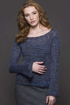 Nadia Top-Down Pullover
