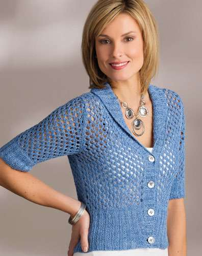 Brahni Lace - Creative Knitting Spring / Summer 2015 Spring Knitting Patterns