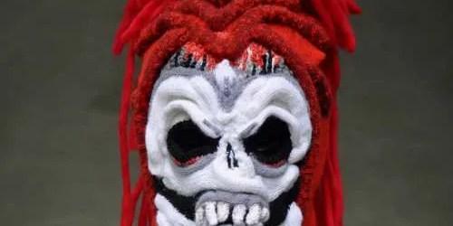Brutal Knitting Skull Mask