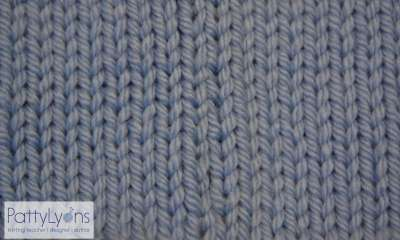 Stockinette selvedge edge