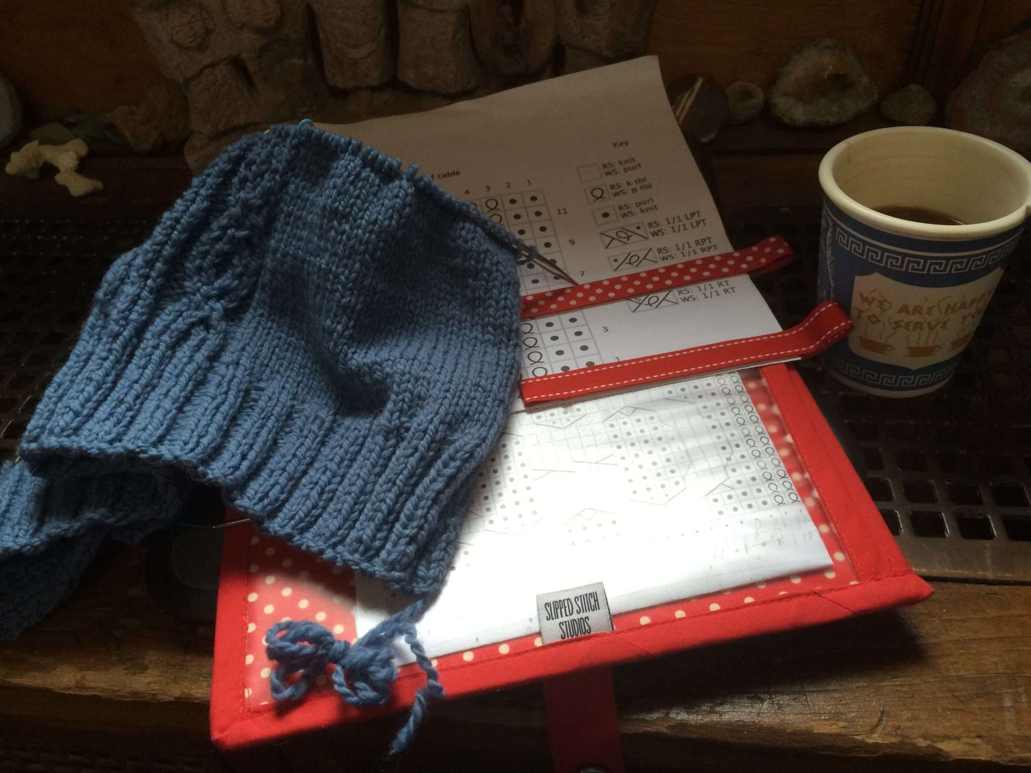Knitting Designer Blog - Diverging Paths Pullover in progress