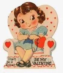 Knitter's Valentine's Day - Patty Lyons