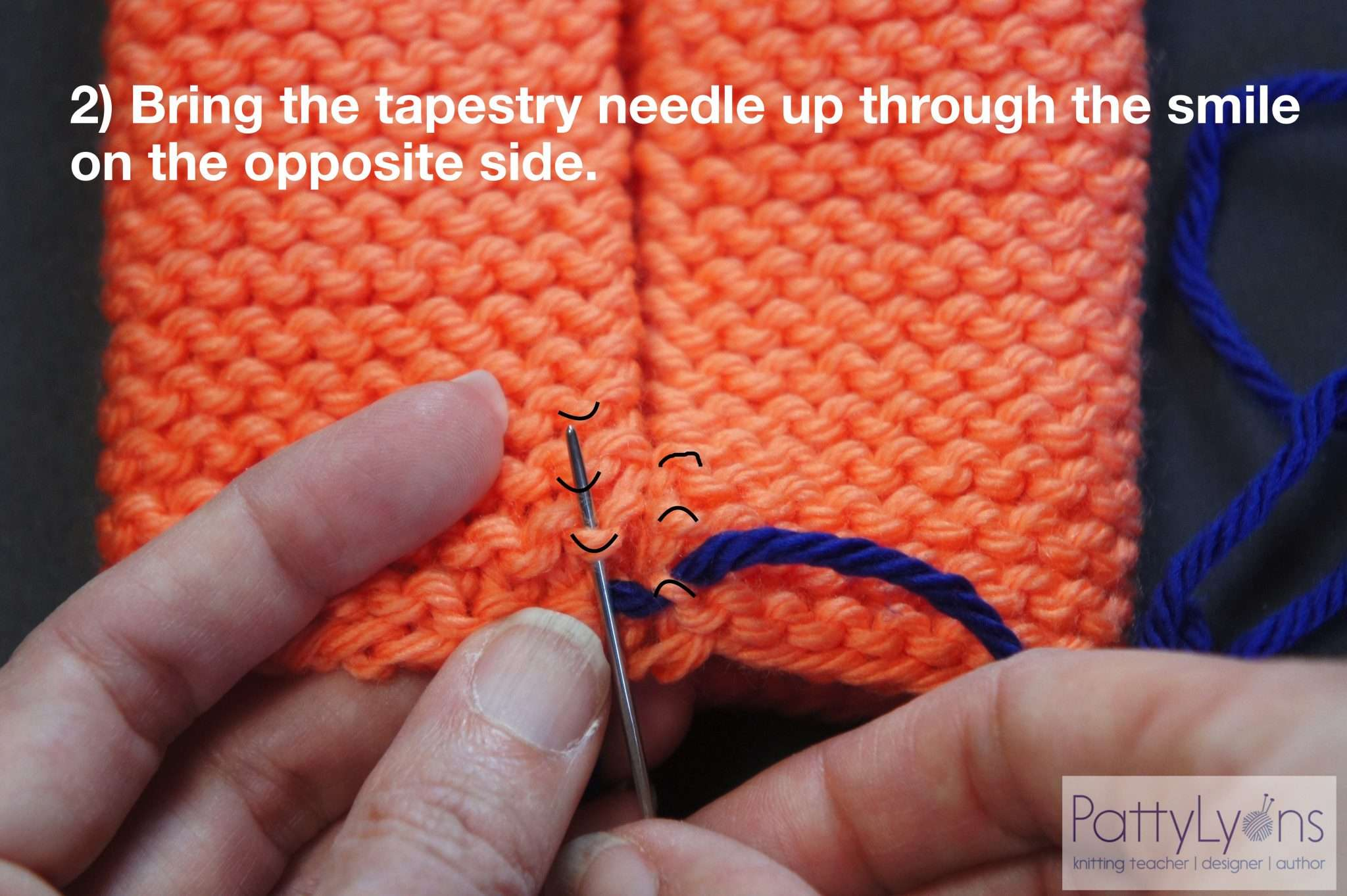 How to Seam Garter Stitch