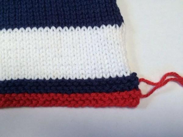 Weaving in Ends skimming