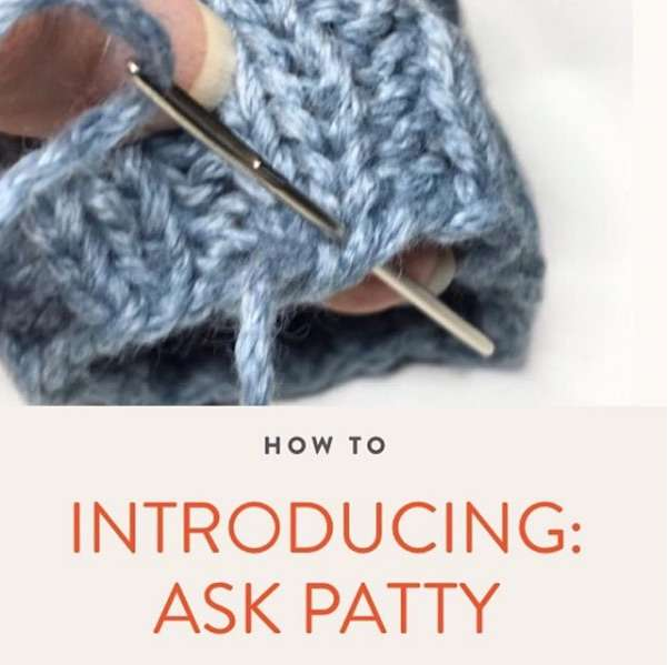 """Ask Patty"" Every Month on Modern Daily Knitting"