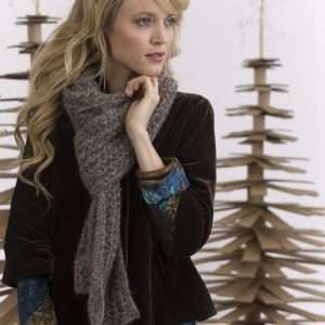 Double Honeycomb Scarf