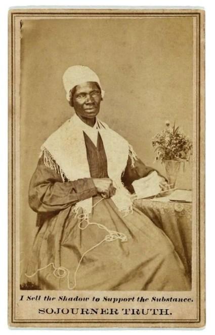"""""""Carte de visite showing Sojourner Truth (c. 1880)"""""""