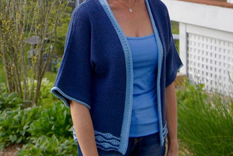 Drop Stitch Wave Cardi