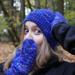 Grape Leaf Hat/Mittens