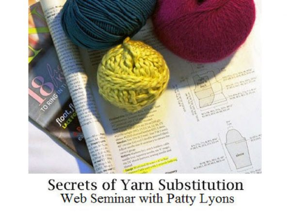 Secrets of Yarn Substitution