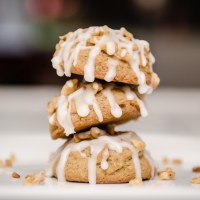 Maple Walnut Spice Cookies