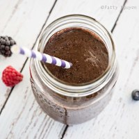 Fiesta Friday   Triple Berry Green Smoothie