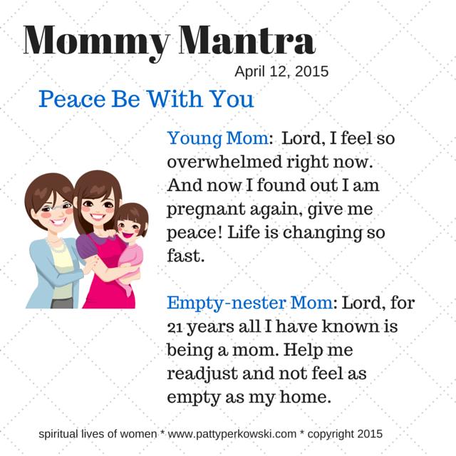 new mom empty nest mom