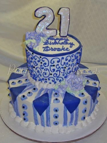 21st birthday cakes archives