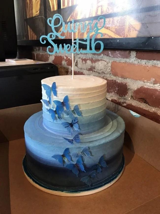 delicious sweet 16 birthday