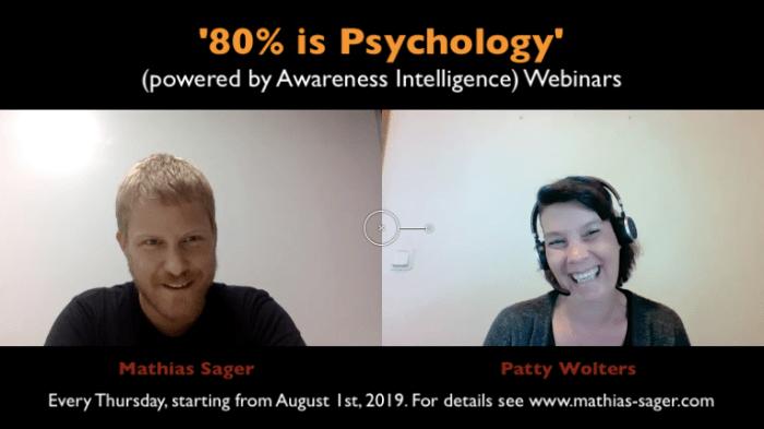 video 80% is Psychology webinars