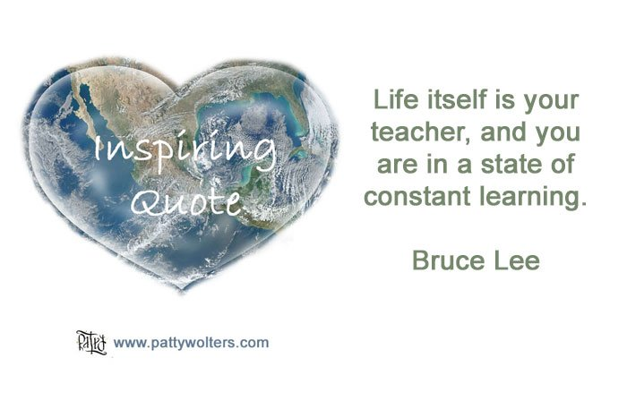 Inspiring Quote by Bruce Lee