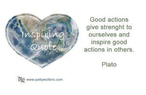 Inspiring Quote Plato