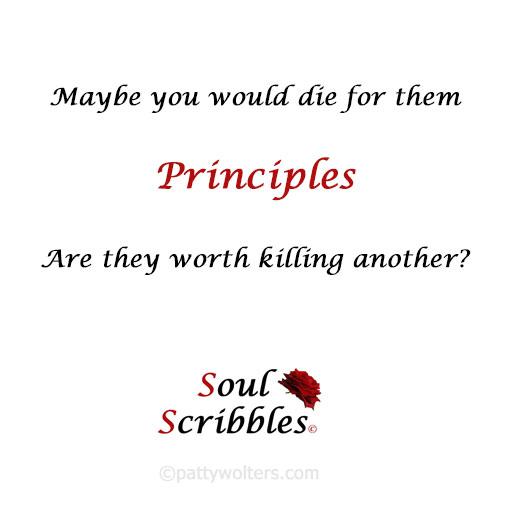 Soul Scribble Principle