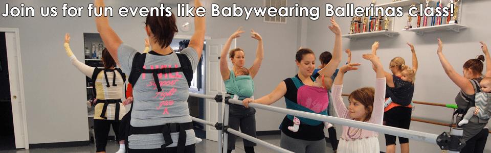 babywearing ballerinas