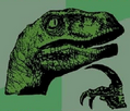 Facebook chat smiley Philosoraptor