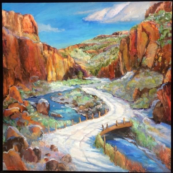 Pat Woodall Fine Art Studios Taos Mexico