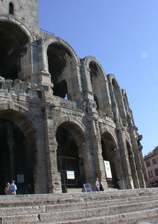 Roman coliseum, Arles, France