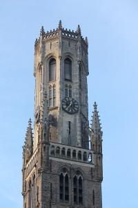 Brugge clock tower
