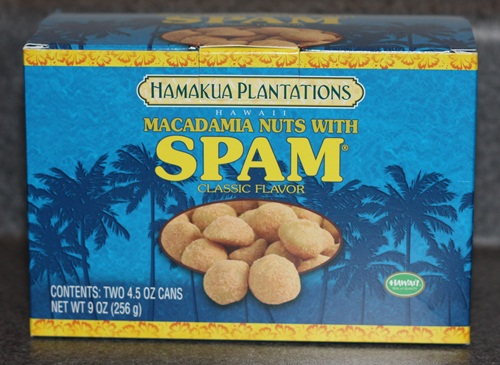 Spam Flavored Mac Nuts