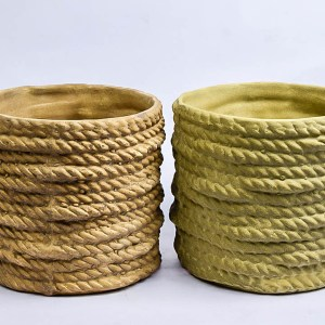 Earthy Rope Pot Small