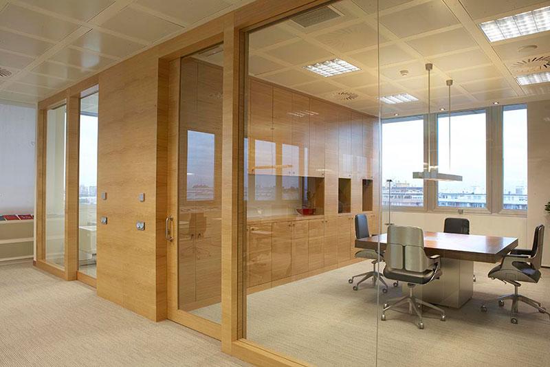 Oficinas constructora Grupo Onofre Miguel  Mobiliario