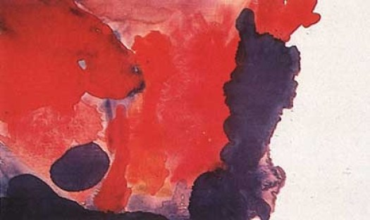frankenthaler en paukf abstract expressionism expresionismo abstracto art arte