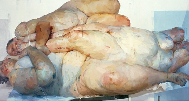 Fulcrum Jenny Saville Gagosian Gallery paukf art expressionism expresionismo arte