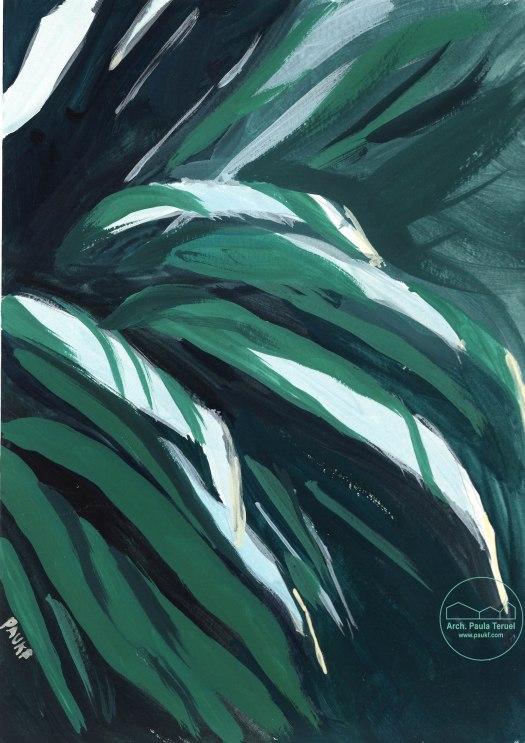 VERDE_GREEN_PLANT_PLANTA_CACTUS_ACRILICO_ILUSTRACION_ARTWORK_PAUKF_2015