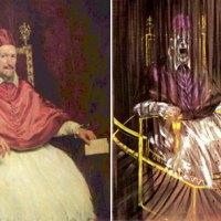 De Roma y Velázquez :: la carne de Francis Bacon